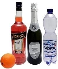 Ingredientes para Aperol Spritz