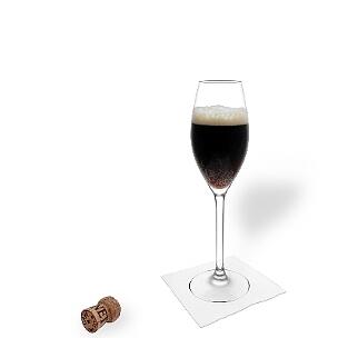 Champán hormigueo y cerveza negra, curiosamente van muy bien juntos.
