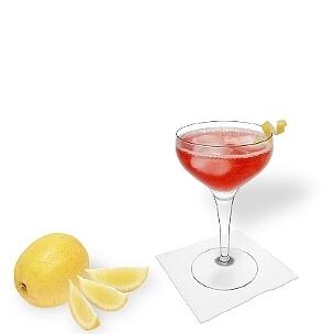 Copas de champán abierta son una buena alternativa para Cosmopolitan.