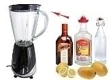 Preparación de Frozen Mango Margarita: Mezclar