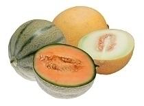 Melón cantalupo y melón escrito