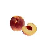 Preparación de Frozen Peach Margarita: Preparación del melocotón