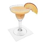 Preparación de Frozen Peach Margarita: Servir