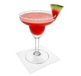 Preparación de Frozen Watermelon Margarita: Servir