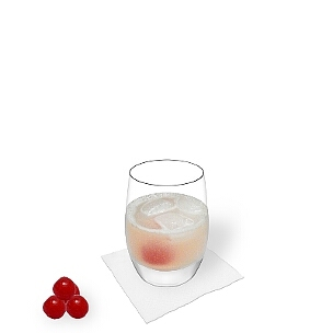 A lo mejor sirves Gin Sour en un vaso Tumbler.
