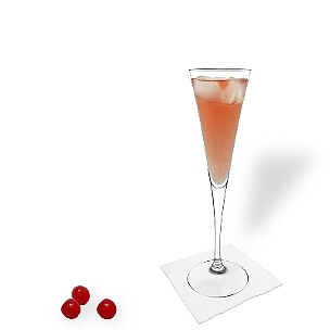 A lo mejor sirves Kir Royal en copas de champán o copas de vino sin decoración.