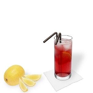 Un color bonito, un sabor rico y mucho alcohol, eso es Long Beach Ice Tea.