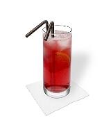 Preparación de Long Beach Ice Tea: Servir