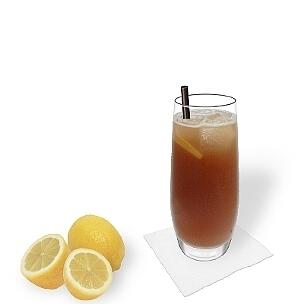 Long Island Ice Tea es un cóctel con mucho alcohol para fiestas.
