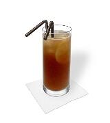Preparación de Long Island Ice Tea: Servir