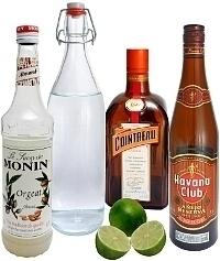 Ingredientes para Mai Tai