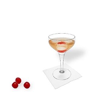 Copas de champán abierta son una buena alternativa para Manhattan.