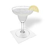 Preparación de Margarita: Servir