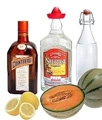 Ingredientes para Melon Margarita: Con Melón Fresco (éstandar)