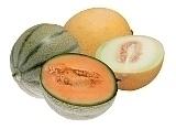 Preparación de Melon Margarita: Preparación del melón