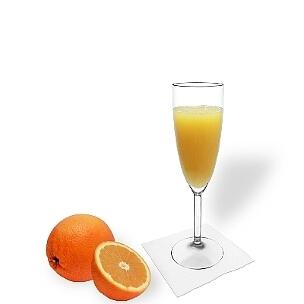 Mimosa es una bebida para aperitivos de España.