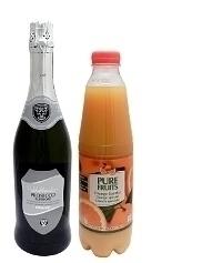 Ingredientes para Mimosa: Relación 2:1 (estándar)
