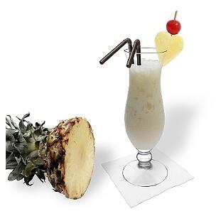 Piña Colada es un cóctel con coco de Brasil.