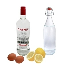 Ingredientes para Pisco Sour