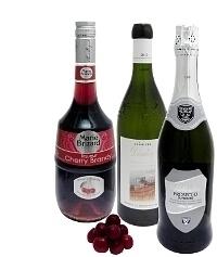 Ingredientes para Ponche de Cereza: Con Cherry Brandy (estándar)