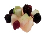 Preparación de Ponche de Frutas: Preparación de las frutas