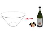 Preparación de Ponche de Frutas: Mezclar