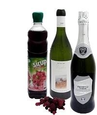 Ingredientes para Ponche de Granos: Con Jarabe de Granos (estándar)