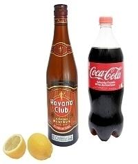 Ingredientes para Ron y Coca-Cola
