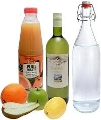 Ingredientes para Sangria Blanca: Con Vino Blanco (Estándar)
