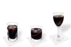 Diferentes decoraciones para Vino Tinto y Coca-Cola