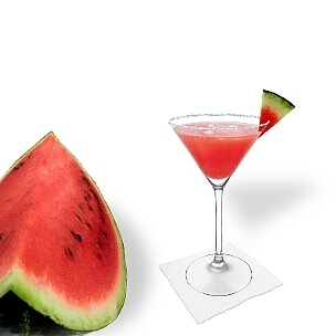Copas de Martini con su  borde largo y fino son ideal para una pizca de azúcar o sal.