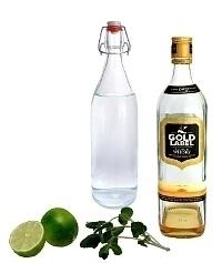 Ingredientes para Whisky Sour