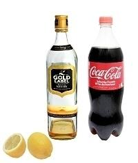 Ingredientes para Whisky y Coca-Cola