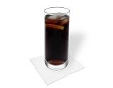 Preparación de Whisky y Coca-Cola: Servir