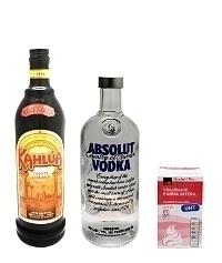 Ingredientes para White Russian: Con Nata (estándar)