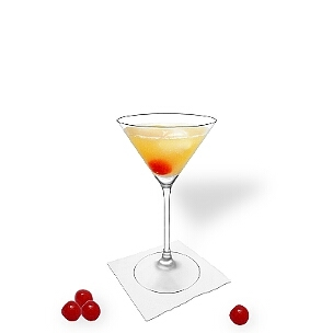 Martini glasses are another great option for Amaretto Sour.