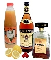 Amaretto Sour ingredients