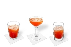 Different Aperol Sour decorations