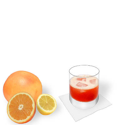 Aperol Sour with individual decoration