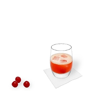 Tumbler glasses are most suitable for Aperol Sour.