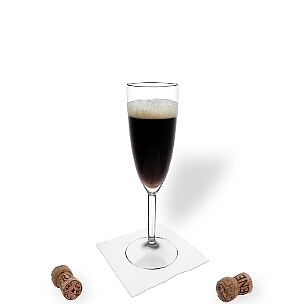 All kind of champagne glasses are ideal for Black Velvet.