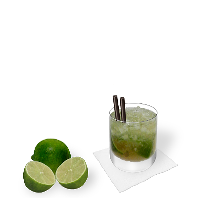 Caipirissima with individual decoration
