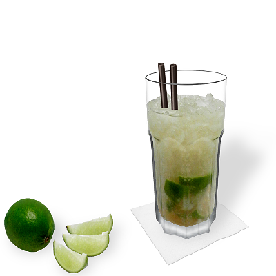 Caipiroska with individual decoration