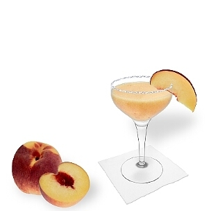 Another great option for Frozen Peach Margarita, a cocktail saucer.