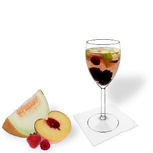 All kind of wine glasses are ideal for a Fruit Punch.