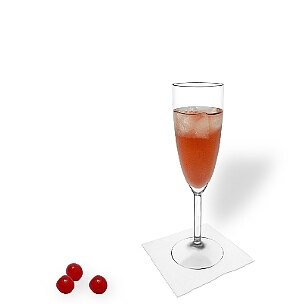 Kir is a drink for women, but also men like it.