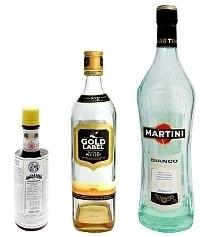 Manhattan ingredients: With White Vermouth (standard)