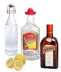 Margarita ingredients