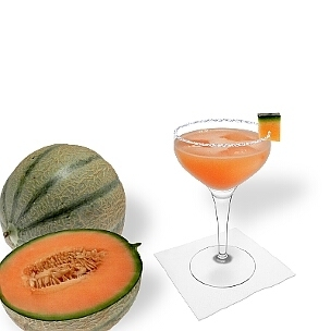 Another great option for Melon Margarita, a cocktail saucer.