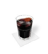 Red wine CokePreparation: Mixing and serving